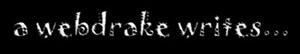 A Webdrake Writes...
